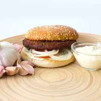 Garlic & Onion Burger
