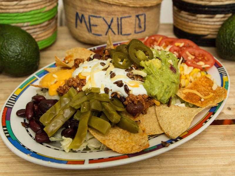 mexicanische salate salsarico express. Black Bedroom Furniture Sets. Home Design Ideas